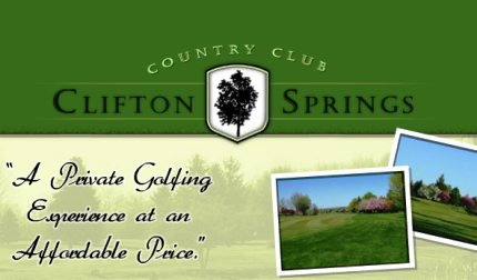 Clifton Springs Country Club, Clifton Springs, New York, 14432 - Golf Course Photo