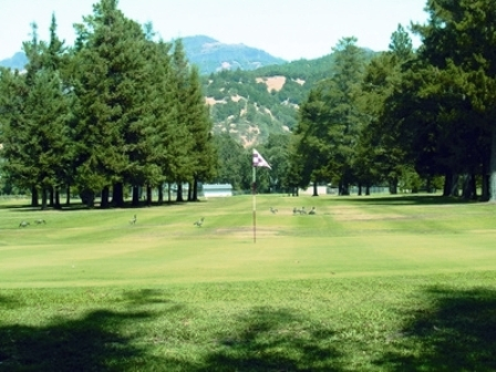 Mount Saint Helena Golf Course,Calistoga, California,  - Golf Course Photo