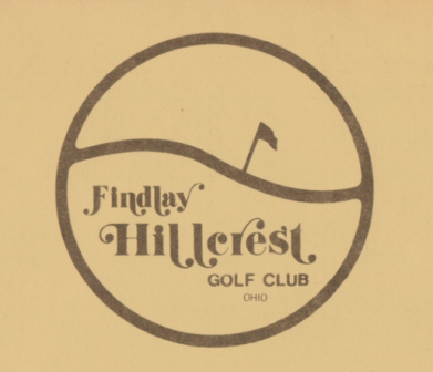 Golf Course Photo, Findlay Hillcrest Golf Club, Findlay, 45840