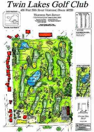 Twin Lakes Golf Course,Westmont, Illinois,  - Golf Course Photo