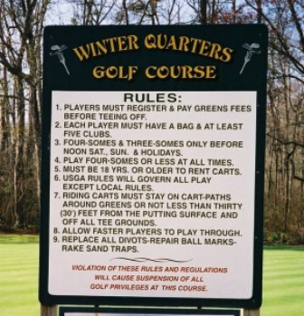 Winter Quarters Municipal Golf Course,Pocomoke City, Maryland,  - Golf Course Photo
