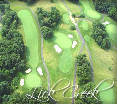 Lick Creek Golf Course,Pekin, Illinois,  - Golf Course Photo