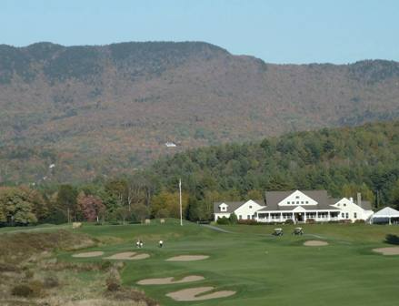 Country Club Of Vermont,Waterbury Center, Vermont,  - Golf Course Photo