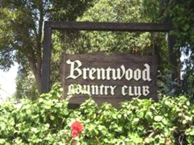 Golf Course Photo, Brentwood Country Club, Los Angeles, 90049