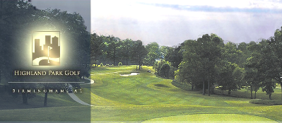 Highland Park Golf Course,Birmingham, Alabama,  - Golf Course Photo