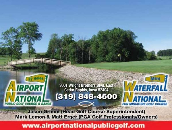Golf Course Photo, Airport National Public Golf Complex, Cedar Rapids, 52404