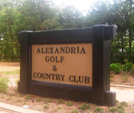 Golf Course Photo, Alexandria Golf & Country Club, CLOSED 2017, Alexandria, 71301