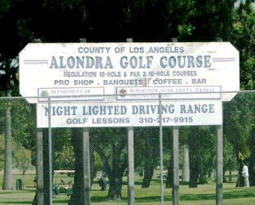 Alondra Park Golf Course, South, Par 3, Lawndale, California, 90260 - Golf Course Photo