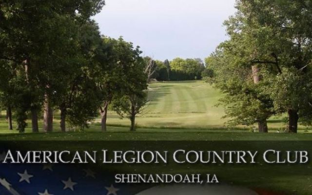 Golf Course Photo, American Legion Country Club, Shenandoah, Iowa, 51601
