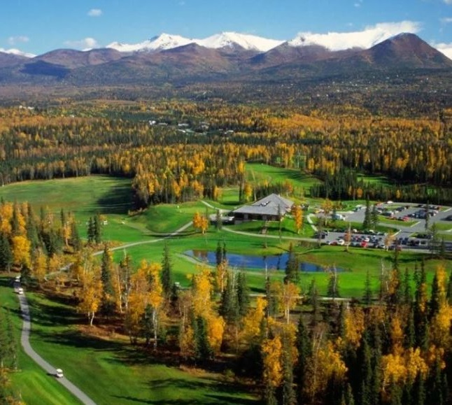 Anchorage Golf Course, Anchorage, Alaska,  - Golf Course Photo