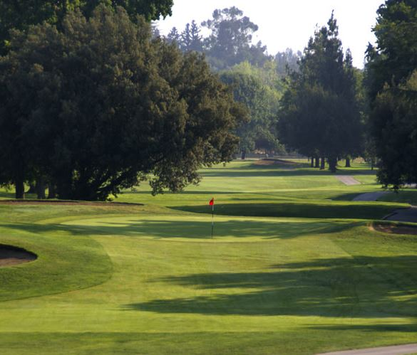 Ancil Hoffman Golf Course, Carmichael, California,  - Golf Course Photo