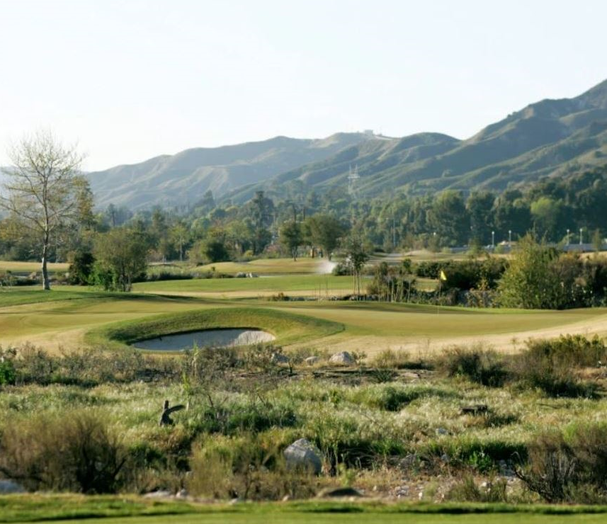 Angeles National Golf Club,Sunland, California,  - Golf Course Photo