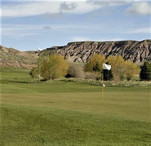 Antelope Hills Golf Course, Dubois, Wyoming,  - Golf Course Photo