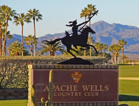 Golf Course Photo, Apache Wells Country Club, Mesa, Arizona, 85215