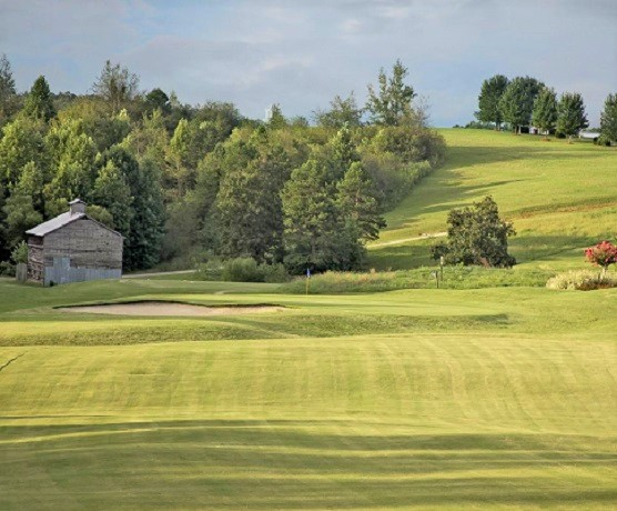 Golf Course Photo, Apple Mountain Resort, Clarkesville, Georgia, 30523