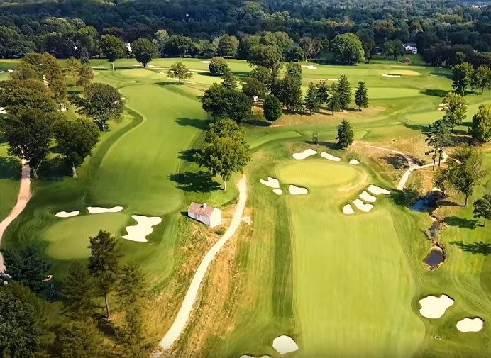 Aronimink Golf Club, Newtown Square, Pennsylvania,  - Golf Course Photo