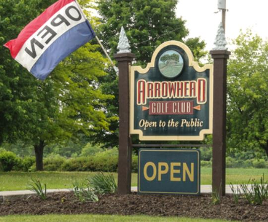 Arrowhead Golf Club, Spencerport, New York,  - Golf Course Photo