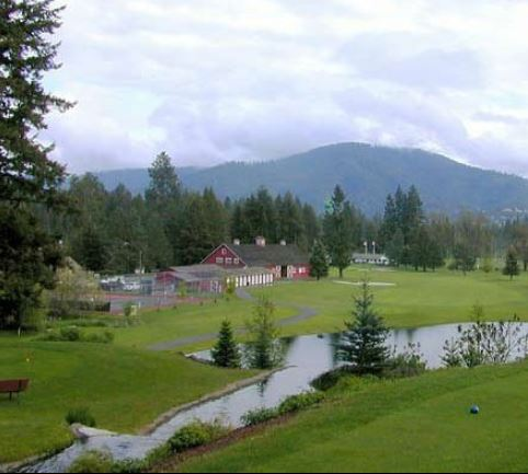 Avondale Golf Course, Hayden Lake, Idaho,  - Golf Course Photo