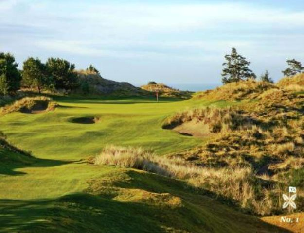 Golf Course Photo, Bandon Dunes, Bandon Preserve, Bandon, 97411