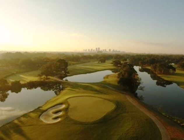 Bayou Oaks Golf Course, South Course,New Orleans, Louisiana,  - Golf Course Photo