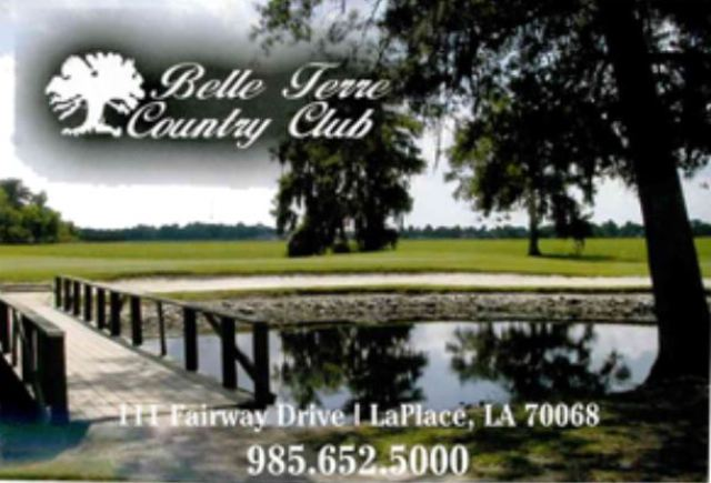 Golf Course Photo, Belle Terre Country Club, La Place, Louisiana, 70068