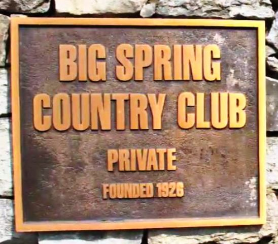 Big Spring Country Club