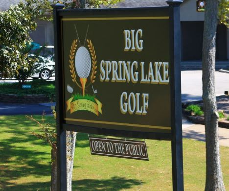 Big Spring Lake Golf, Albertville, Alabama, 35950 - Golf Course Photo