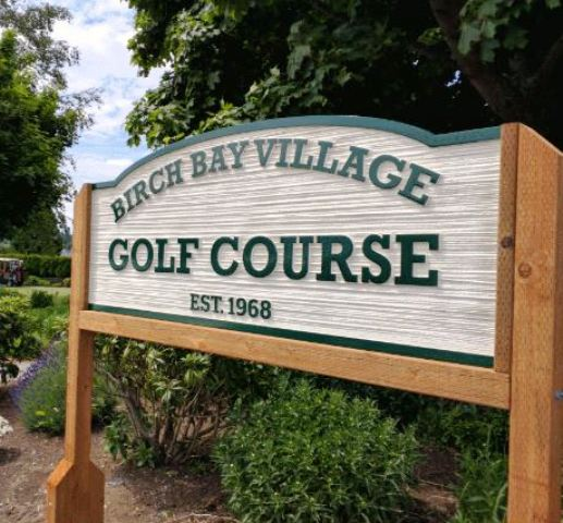 Birch Bay Village Golf Course, Blaine, Washington, 98230 - Golf Course Photo