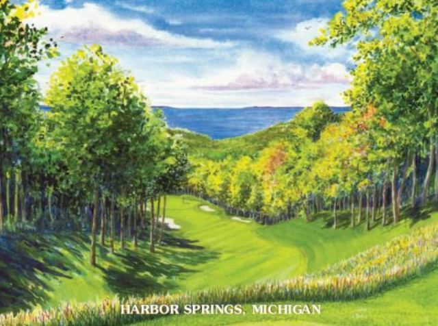 Birchwood Farms Golf & Country Club - Farms-Birches-Woods, Harbor Springs, Michigan,  - Golf Course Photo