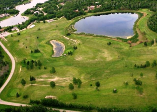 Birchwood Golf Course, CLOSED 2012, Bottineau, North Dakota,  - Golf Course Photo