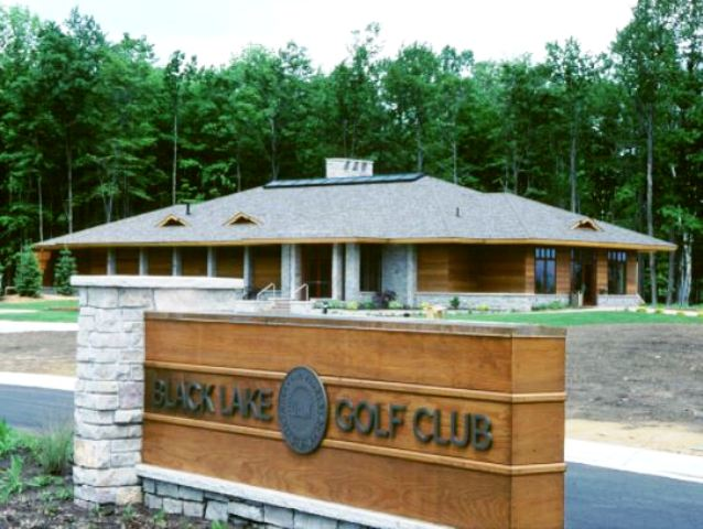 Golf Course Photo, Black Lake Golf Club, The Little Course, Onaway, 49765