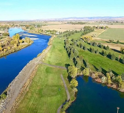 Golf Course Photo, Blackfoot Municipal Golf Course, Blackfoot, 83221