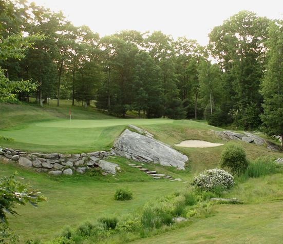 Blissful Meadows Golf Club, Uxbridge, Massachusetts,  - Golf Course Photo