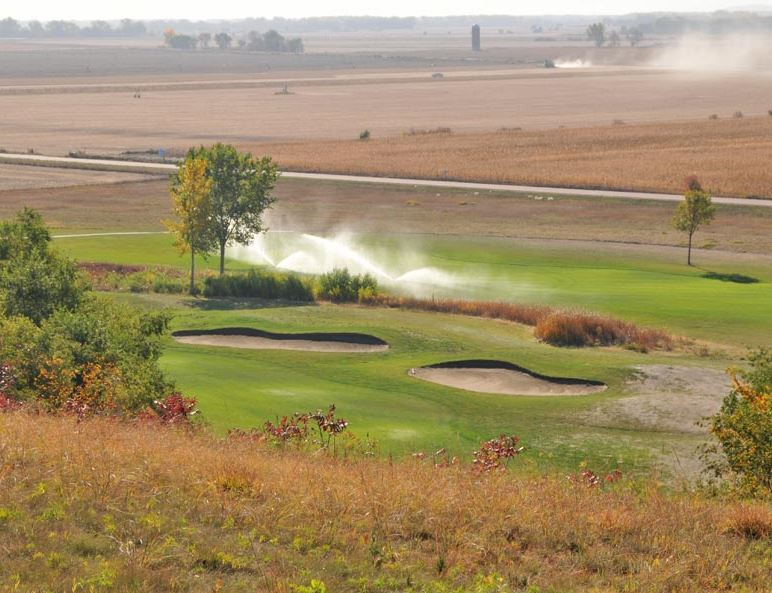 Bluffs Golf Course, Vermillion, South Dakota,  - Golf Course Photo