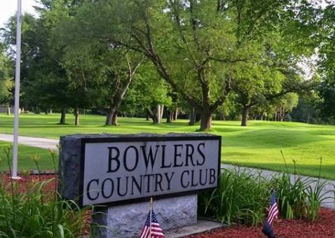 Golf Course Photo, Bowlers Country Club, South Bend, 46619