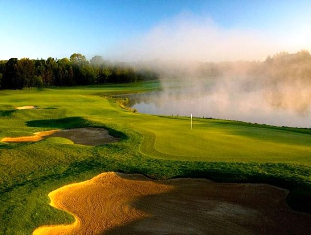 Boyne Highlands Resort & Country Club, Arthur Hills Course,Harbor Springs, Michigan,  - Golf Course Photo