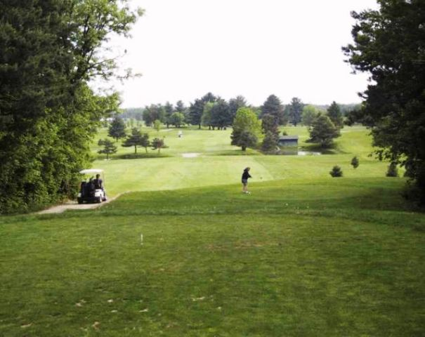 Briar Hill Golf Course, CLOSED 2012,Fremont, Michigan,  - Golf Course Photo