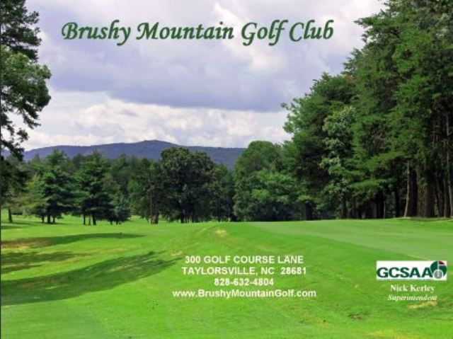 Golf Course Photo, Brushy Mountain Country Club, Taylorsville, 28681