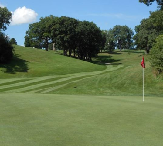 Bunker Hill Golf Course, Dubuque, Iowa,  - Golf Course Photo