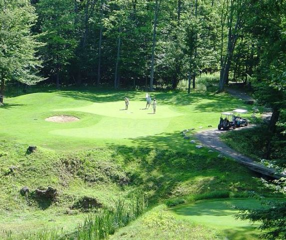 Caberfae Peaks Golf Course, Cadillac, Michigan, 49601 - Golf Course Photo