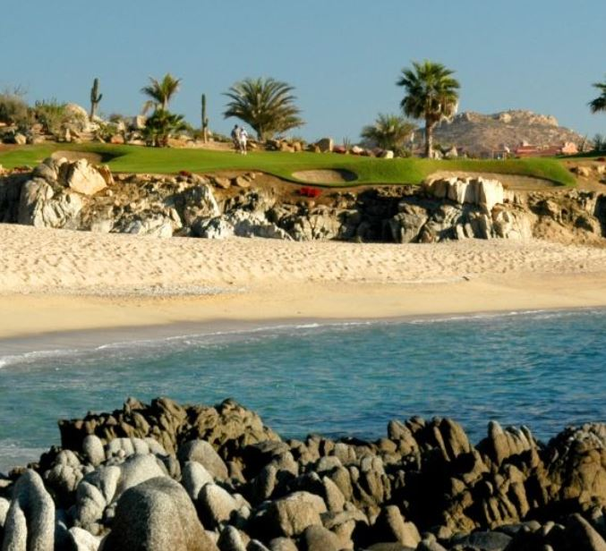 Golf Course Photo, Cabo Del Sol Golf Course, Ocean, Los Cabos , Mexico, 23400