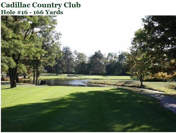 Golf Course Photo, Cadillac Country Club, Cadillac, Michigan, 49601