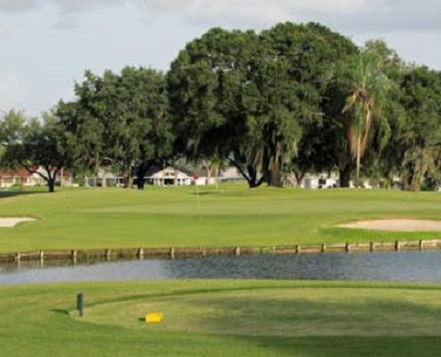 Caloosa Golf & Country Club, Sun City Center, Florida,  - Golf Course Photo