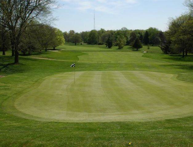Cascades Golf Course, Cascades Eighteen,Jackson, Michigan,  - Golf Course Photo