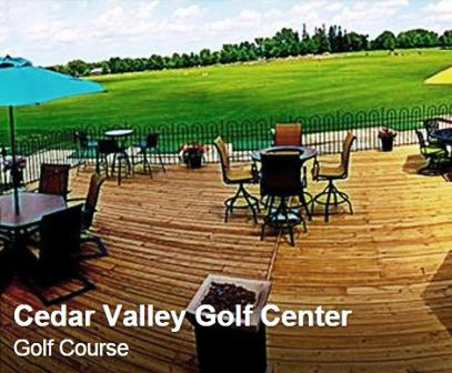 Golf Course Photo, Cedar Valley Golf Center, Metro Golf & Sports, Waterloo, 50701
