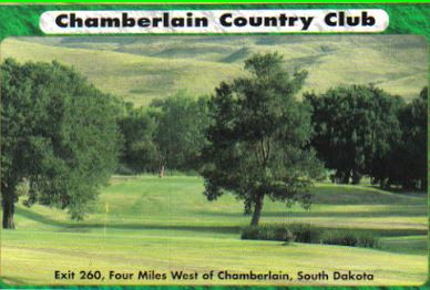 Golf Course Photo, Chamberlain Country Club, Chamberlain, South Dakota, 57325