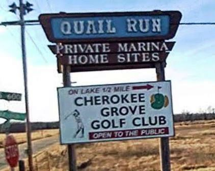 Cherokee Grove Golf Club,Grove, Oklahoma,  - Golf Course Photo