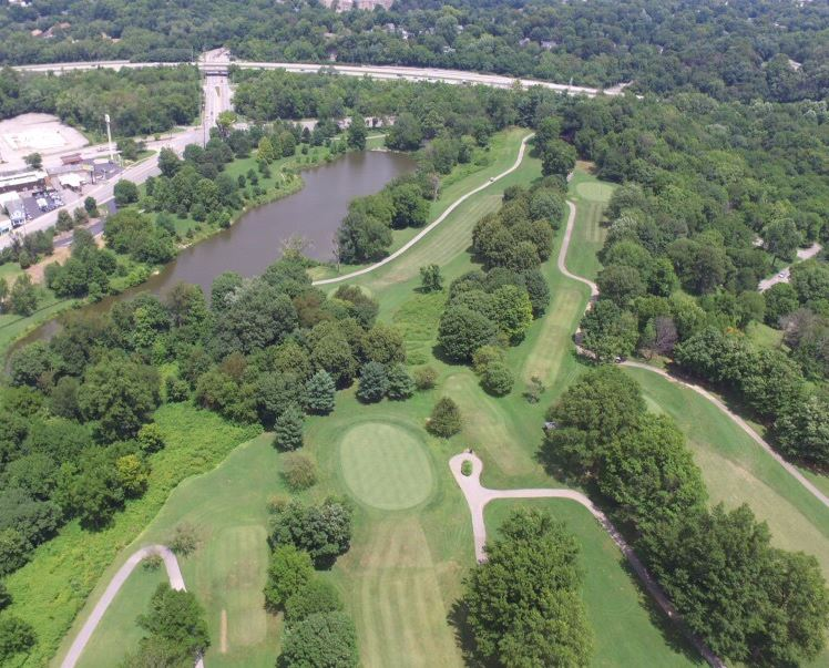 Cherokee Golf Course, Louisville, Kentucky,  - Golf Course Photo