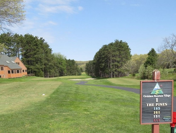 Golf Course Photo, Christmas Mountain Village, The Pines Golf Course, Wisconsin Dells, 53965