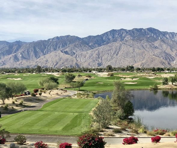 Cimarron Golf Club, Boulder Course, Cathedral City, California,  - Golf Course Photo